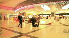 Duty Free store in airport - stock footage