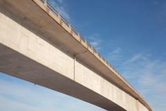 bridge span - stock photo