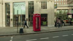London Olympic Lane 2012 - stock footage