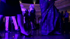 People Dancing at a Party Stock Footage