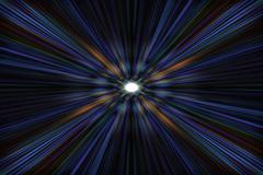 Stock Illustration of blue starburst explosion