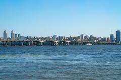 bridge - stock photo