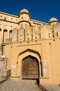 Amber fort, landmark of jaipur Stock Photos