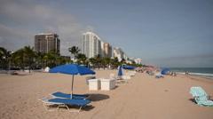 Fort Lauderdale Beach Stock Footage