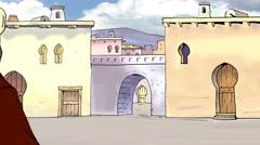 Stock Video Footage of Cartoons City