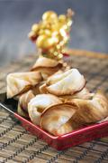 chinese fortune cookie. - stock photo