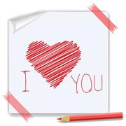 heart symbol - stock illustration