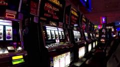 close up slot machine - stock footage
