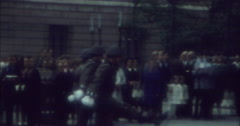 Berlin 1970 70 GDR Soldiers Exercise Drill West East 16mm - stock footage