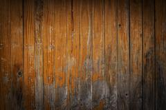timber wood brown plank background - stock photo