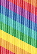 Bright rainbow dotted diagonal background Stock Illustration