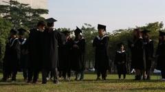 University Students Preparing For Their Graduation-Dan Arkistovideo