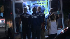 Emergency Vehicles Stock Footage