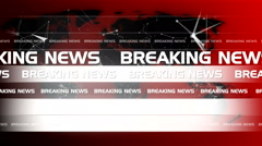 Abstract technology breaking news background 1 - stock footage