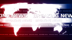 Abstract technology breaking news background 3 - stock footage