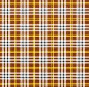 Stock Photo of fabric with a checked pattern in brown tones