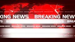 Abstract technology breaking news background 6 - stock footage