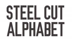 Steel Cut Alphabet Stock After Effects