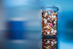 medicines - stock photo