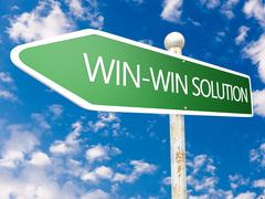 Stock Illustration of win-win solution