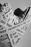 happy valentines day - stock photo