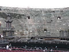 Arena Di Verona Italy - stock photo