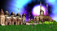 Mawlana Mosque in Anatolia Konya Stock Footage