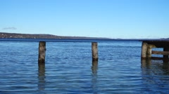 Lake starnberg, upper bavaria, germany Stock Footage