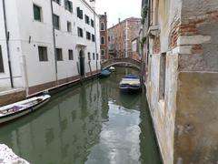 Street in Venice - stock photo