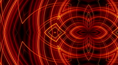 Abstract loop motion background, red light Stock Footage
