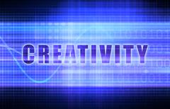 Stock Illustration of creativity