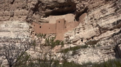 Sedona Arizona Montezuma Castle native Sinagua Indian ruins HD 002 Stock Footage