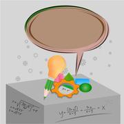 mathematical concepts - stock illustration