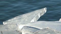 Ice blocks Stock Footage