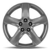 wheel disk isolated on white - stock illustration