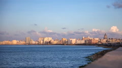La Habana skyline time lapse Stock Footage