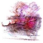 Stock Illustration of modern art red, black, violet avant-guard artist seamless  backg