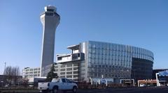 Portland Oregon Airport Stock Footage