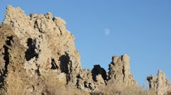 Mono lake in Mono County, California Stock Footage
