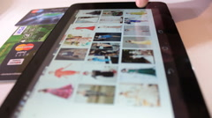 buy online with ipad - stock footage