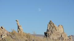 Mono Lake Sierra Nevada Mountains - stock footage