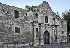 Alamo in san antonio. Stock Photos