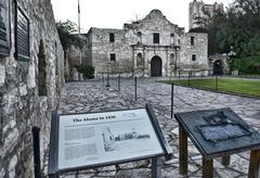 Alamo in San Antonio,Texas. Stock Photos