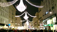 Stock Video Footage of Christmas in Vienna