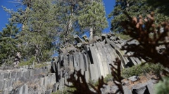 Devils Postpile National Monument - stock footage