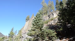 Devils Postpile National Monument Stock Footage