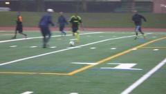 Pick Up Community Soccer Game Stock Footage