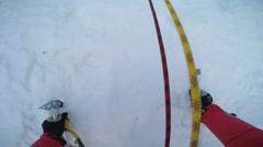 POV Ice climbing Arkistovideo