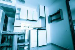 Kitchen interior Stock Photos