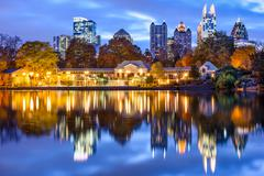 atlanta, georiga cityscape - stock photo